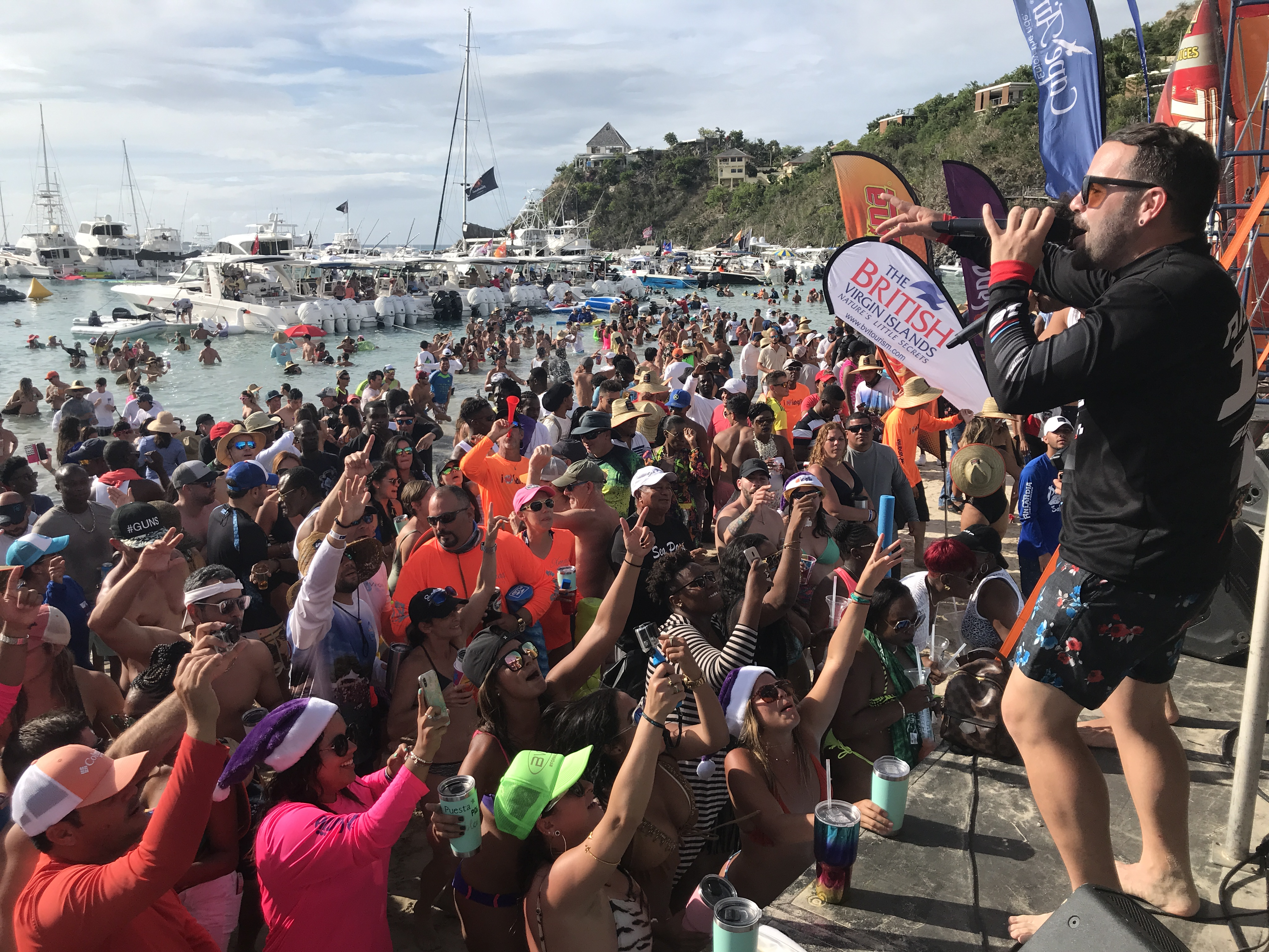 Christmas In July 2019 Bvi.Christmas In July Event Boosts Bvi Economy Government Of