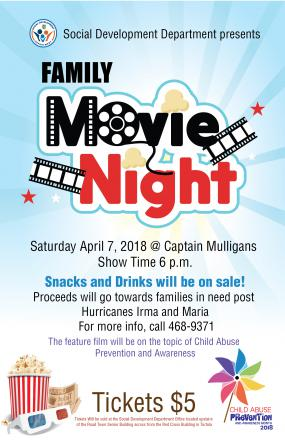 Movie Night Fundraiser For Families in Need in The BVI