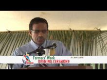 Embedded thumbnail for Farmers Week Opening Ceremony - January 30, 2015