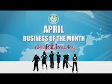 Embedded thumbnail for April, Business of the Month - Akiya Brewley Designs