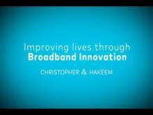 Embedded thumbnail for Improving Lives through Broadband Innovation