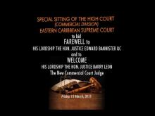 Embedded thumbnail for Special Sitting of the High Court (Commercial Division) Eastern Caribbean Supreme Court
