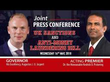Embedded thumbnail for Joint Press Conference - UK Sanctions and Anti Money Laundering Bill