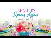 Embedded thumbnail for Seniors' Spring Affair