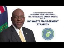 Embedded thumbnail for Statement by Minister for Health and Social Development on Waste Management Strategy Update