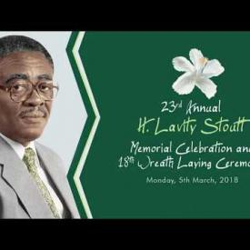 Embedded thumbnail for 23rd Annual H. Lavity Stoutt Memorial Celebration and 18th Wreath Laying