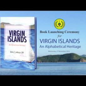 Embedded thumbnail for Book Launching Ceremony for Virgin Islands: Alphabetical Heritage
