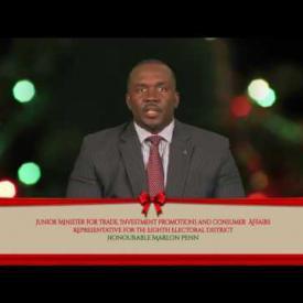 Embedded thumbnail for 2016 Holiday Message - Honourable Marlon Penn