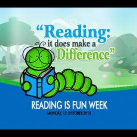 Embedded thumbnail for Reading is Fun Week - Opening Ceremony at Elmore Stoutt High School