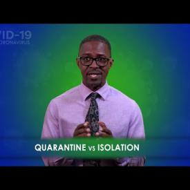 Embedded thumbnail for Covid-19 Fact, Quarantine vs Isolation