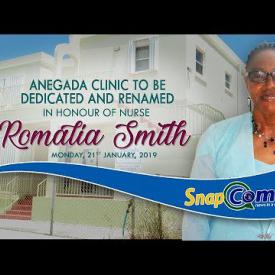 Embedded thumbnail for Anegada Clinic To Be Renamed After Nurse Romalia Smith