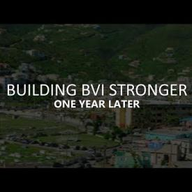 Embedded thumbnail for Building the BVI Stronger One Year Later