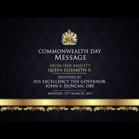 Embedded thumbnail for 2017 Commonweath Day Message