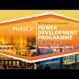 Embedded thumbnail for Phase V - BVIEC Power Development Programme Update - February