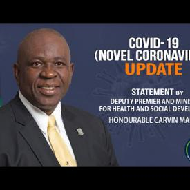 Embedded thumbnail for Statement on Corona Virus update by Minister for Health & Social Development Hon Carvin Malone