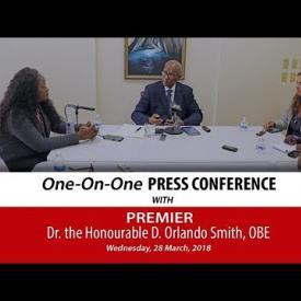 Embedded thumbnail for Premier's One-On-One Press Conference