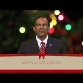 Embedded thumbnail for 2016 Holiday Message - Dr. the Honourable Kedrick D. Pickering