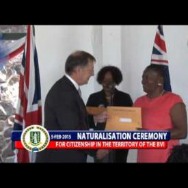 Embedded thumbnail for Naturalisation Ceremony - February 5th, 2015