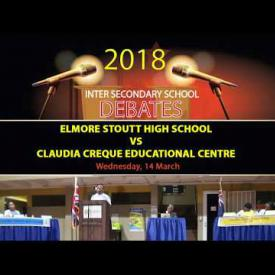 Embedded thumbnail for Inter Secondary School Debate - ESHS vs CCEC
