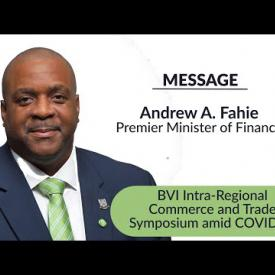 Embedded thumbnail for BVI Intra Regional Commerce and Trade Symposium amid COVID 19