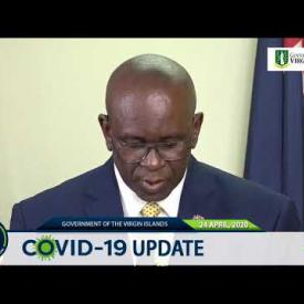 Embedded thumbnail for Statement by Honourable Carvin Malone at Covid-19 Update 24 April 2020
