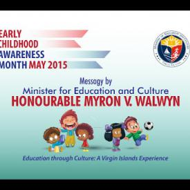 Embedded thumbnail for Message by Minister for Education and Culture - Early Childhood Awareness Month 2015