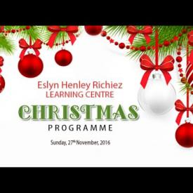 Embedded thumbnail for Eslyn Henley Richiez Learning Centre Christmas Programme