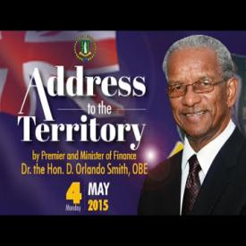 Embedded thumbnail for Address to the Territory - 4th May, 2015