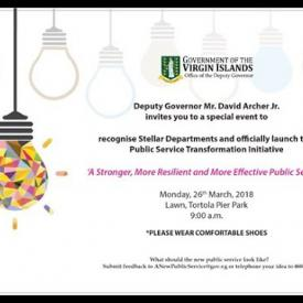 Embedded thumbnail for Ad - Public Service Transformation Initiative Launch