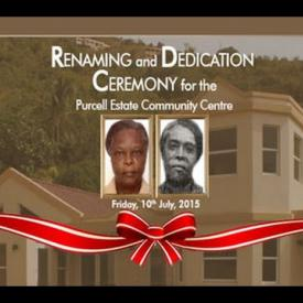 Embedded thumbnail for Renaming and Dedication Ceremony for the Purcell Community Centre