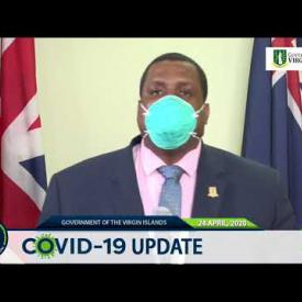 Embedded thumbnail for Statement by Premier Hon. Andrew Fahie at Covid-19 Update 24 April 2020