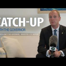 Embedded thumbnail for Catch-Up with the Governor