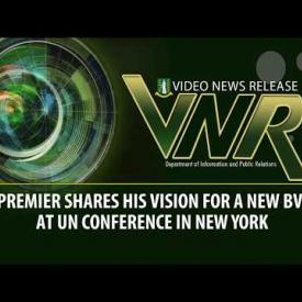 Embedded thumbnail for Premier shares his vision for a new BVI at UN Conference in New York