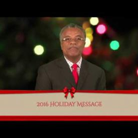 Embedded thumbnail for 2016 Holiday Message - Honourable Hubert O'Neal
