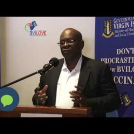 Embedded thumbnail for BVI Health Minister Carvin Malone Remarks at COVID-19 Vaccine Roll Out