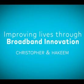 Embedded thumbnail for Improving Lives through Broadband Innovation