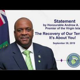Embedded thumbnail for Premier Statement - The Recovery of Our Territory - It's About You!
