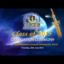 Embedded thumbnail for ESHS Graduation 2015