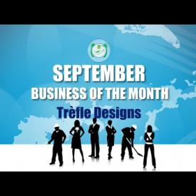 Embedded thumbnail for Business of the Month - September - Trèfle Designs