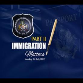 Embedded thumbnail for Immigration Matters Part 2