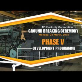 Embedded thumbnail for BVIEC Ground Breaking Ceremony - Phase V Development Programme