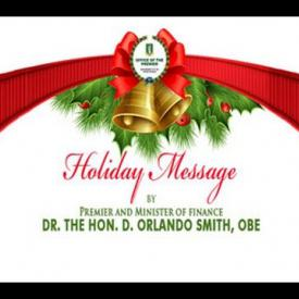 Embedded thumbnail for 2015 Holiday Message by Premier and Minister of Finance, Dr the Hon. D. Orlando Smith, OBE