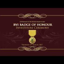 Embedded thumbnail for BVI Badge Of Honour Ceremony 2017