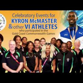 Embedded thumbnail for GIS Report - Celebratory Events for Kyron McMaster and other VI Athletes