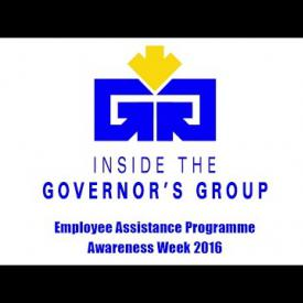 Embedded thumbnail for Inside the Governor's Group - Employee Assistance Programme Awareness Week 2016