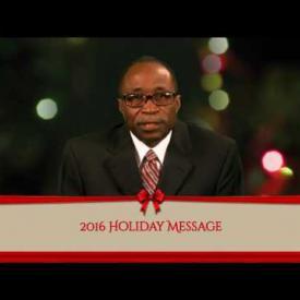 Embedded thumbnail for 2016 Holiday Message - Honourable Julian Fraser RA