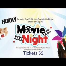 Embedded thumbnail for Ad - Child Abuse Prevention and Awareness Month - Family Movie Night