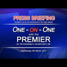Embedded thumbnail for One-on-One with Premier Smith  8-MAR-2017