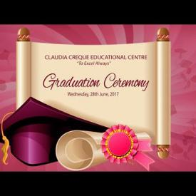Embedded thumbnail for Claudia Creque Educational Centre Graduation Ceremony