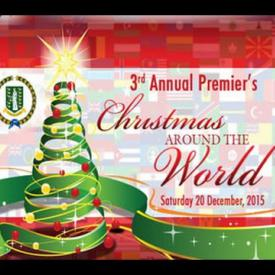 Embedded thumbnail for 3rd Annual Premier's Christmas Around the World 2015